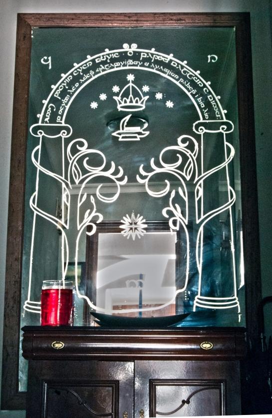 Espejo Puertas de Moria
