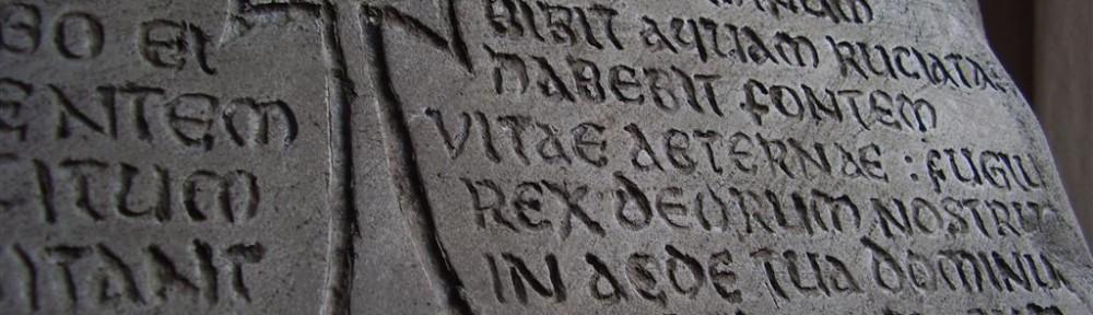Réplica tablilla del grial. grail tablet replica