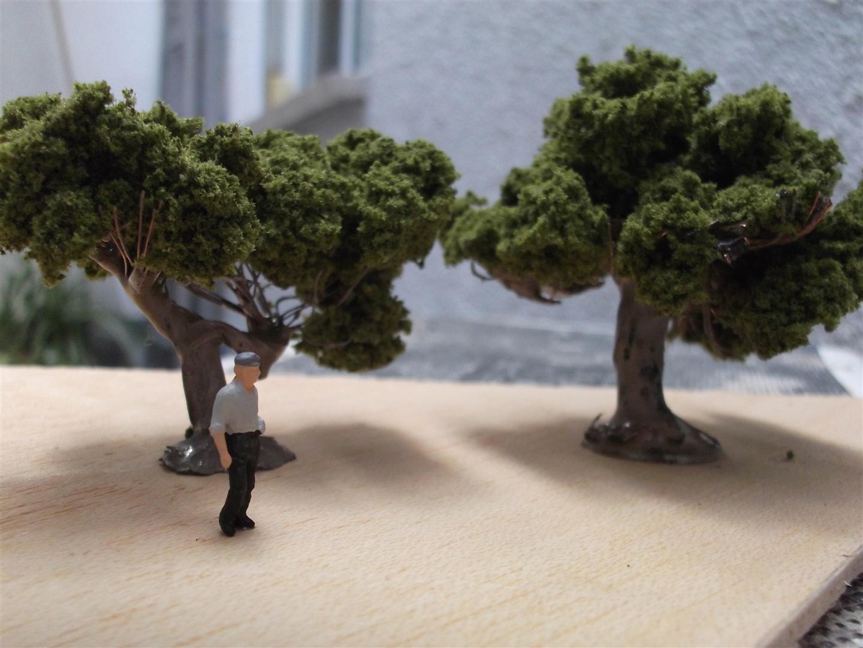 Árboles para maquetas. Model trees