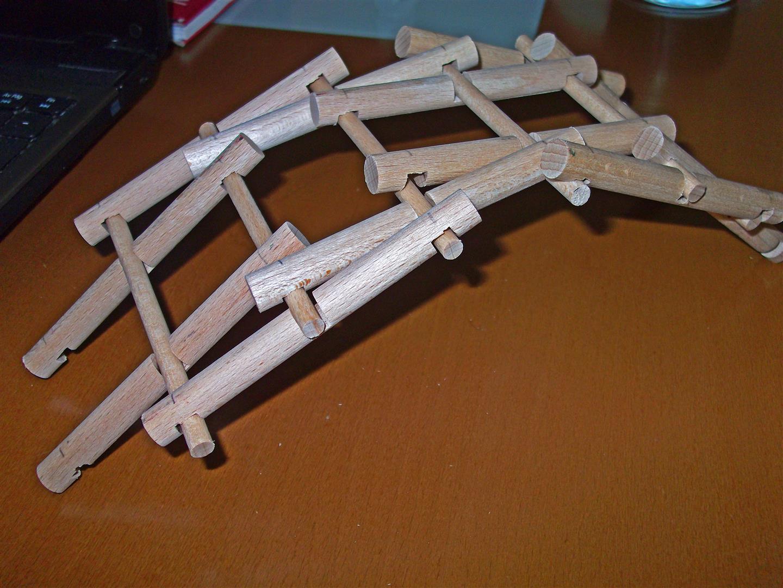 Puente leonardo. Leonardo's bridge