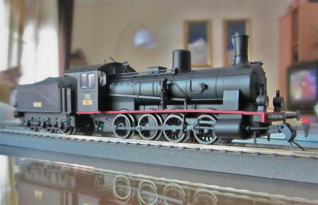 Locomotora a vapor RENFE 040.