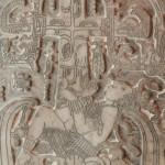 Réplica losa Pacal, Pakal tombstone replica